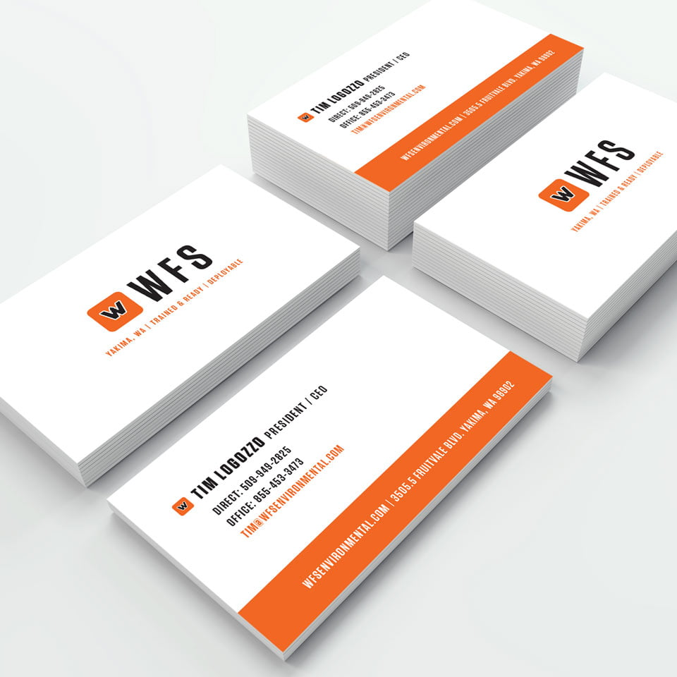 Wildfire Services Business Card Design