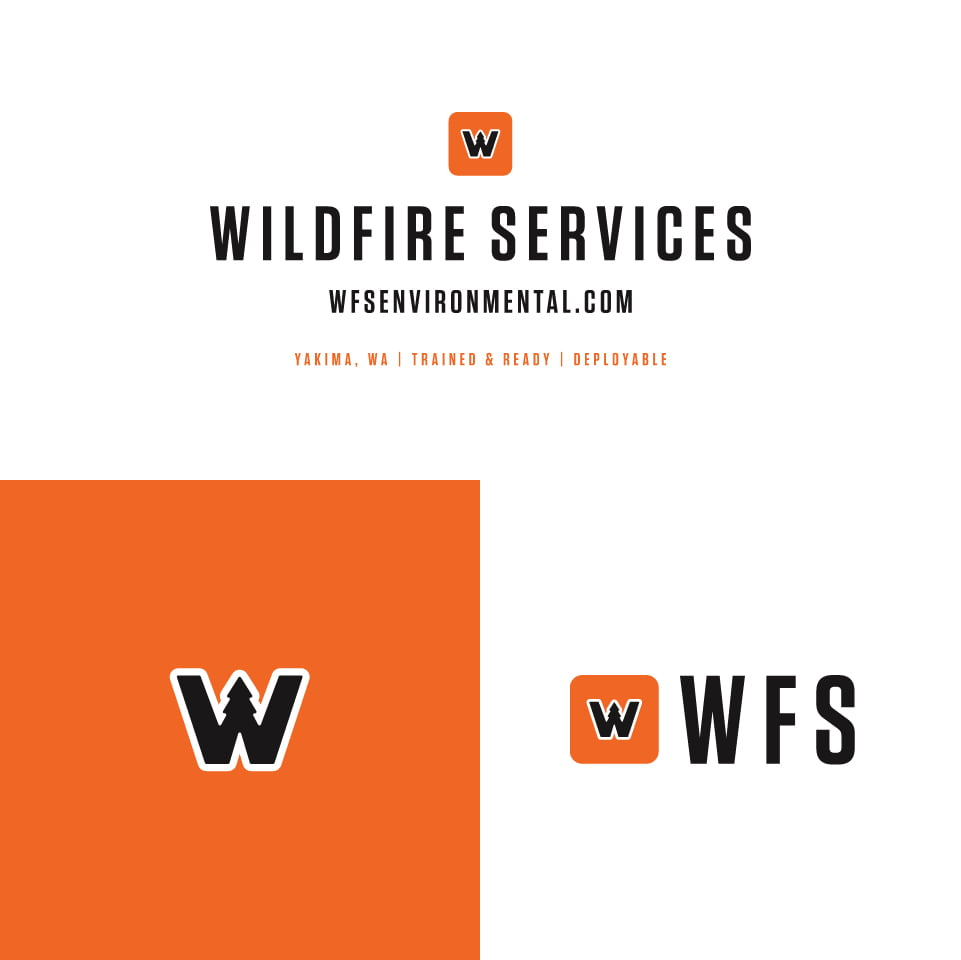 Wildfire Services Logo Variations